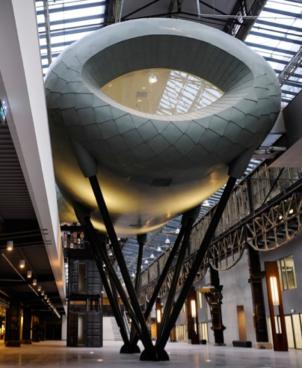 Jonas ROC Hengelo - Structure Architect: IAA Client: ROC of Twente Engineer: Bartels Builder: X2 Location: Hengelo, NL