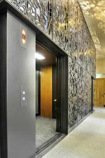 City Hall Rotterdam - Elevator shaft Architect: Merkx & Girod Client: City of Rotterdam Engineer: X2 Builder: X2 Location: Rotterdam, NL