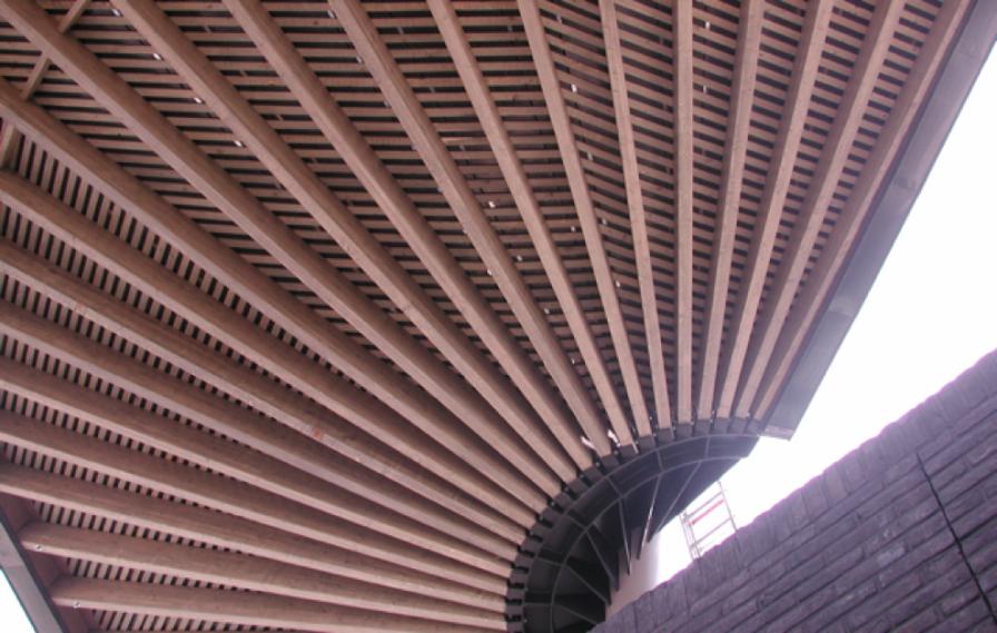 Heekplein - Canopy Architect: West8 Client: City of Enschede Builder: X2 Location: Enschede, NL