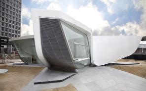New Amsterdam Pavilion - Pavilion Architect: UNStudio Client: Battery Conservacy Engineer: Buro Happold Builder: X2 Location: New York, USA